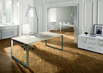 ufficio_direzionale_semplice_design_legno_moderno_metallo