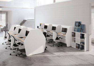ufficio_operativo_call center_divisione_in linea_postazione_moderno_design_bianco