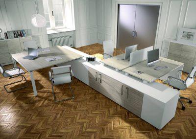 ufficio_operativo_moderno_design_linea_postazioni_bianco_legno